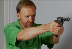 "The Tactical Professor in his ""Secrets of the Snubby"" DVD discusses trigger control with a snub revolver"