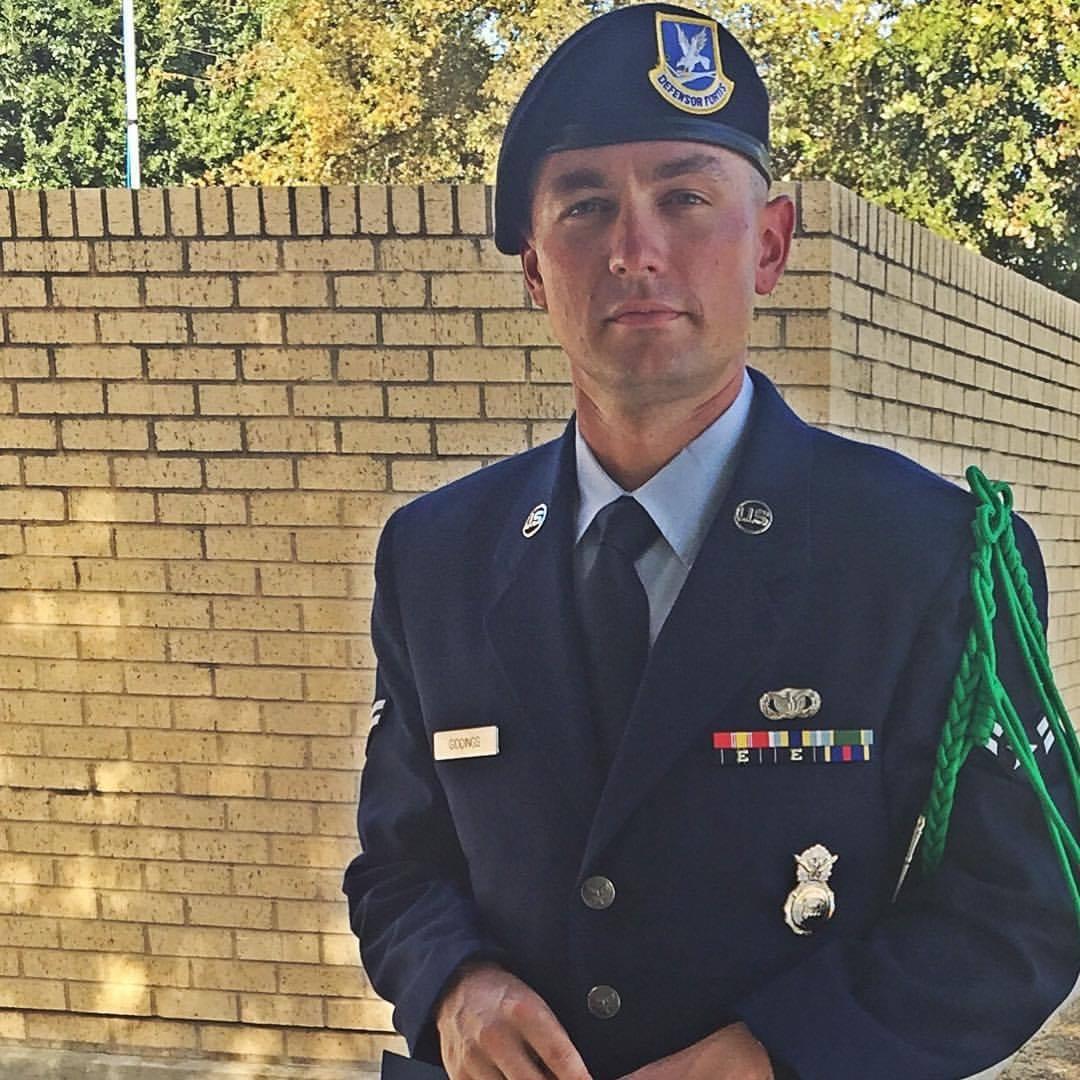 Caleb Giddings Air Force
