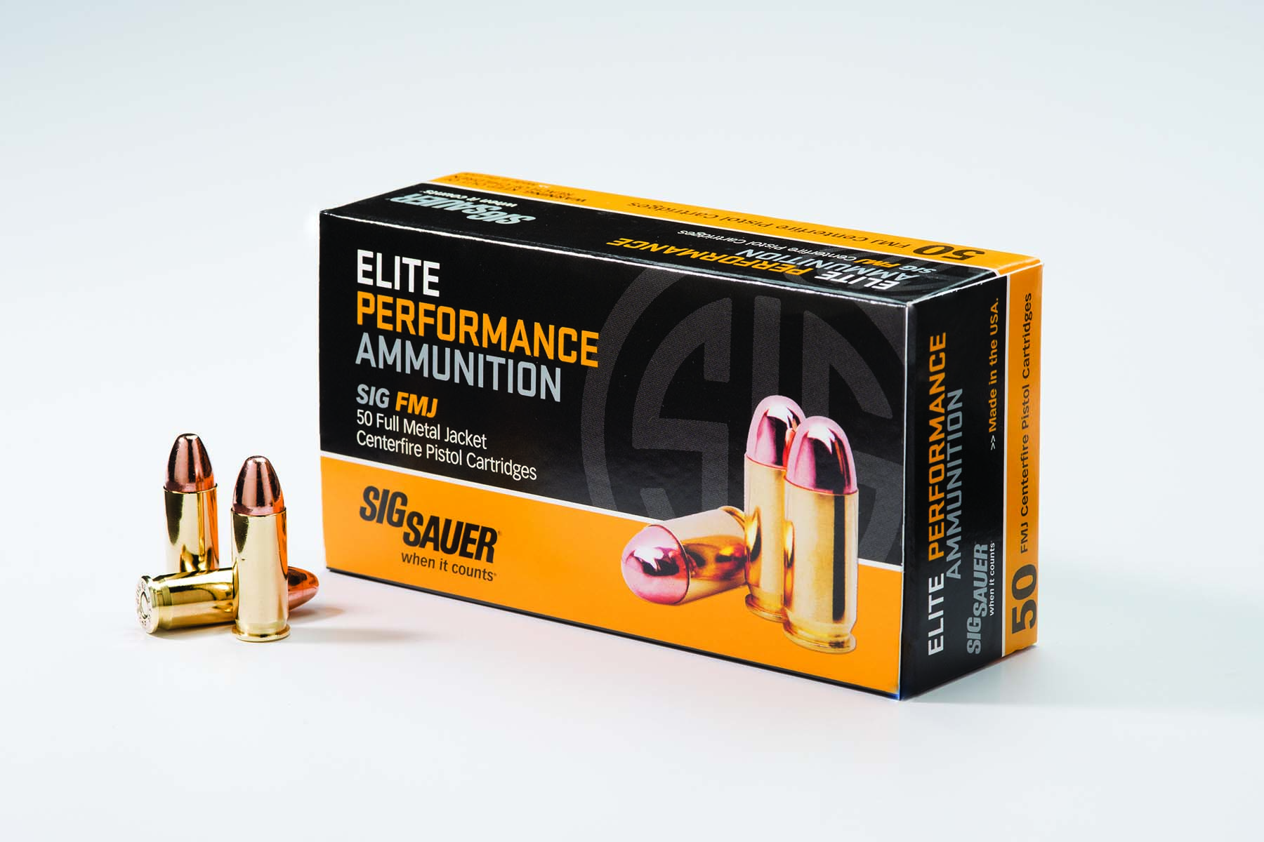 SIG SAUER® Introduces .38 Super +P Elite Performance Ammunition