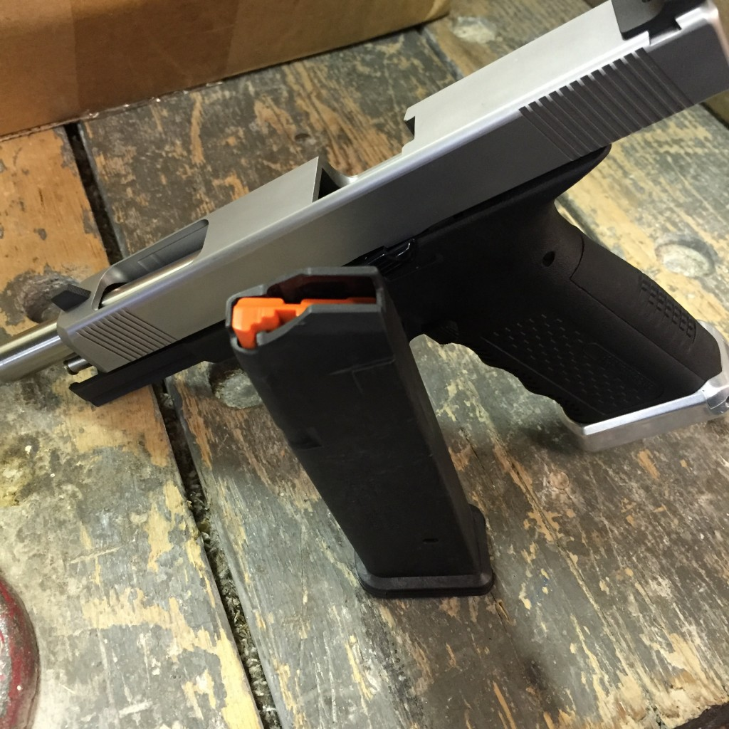 Timberwolf Tactical 9mm with Magpul Pmag