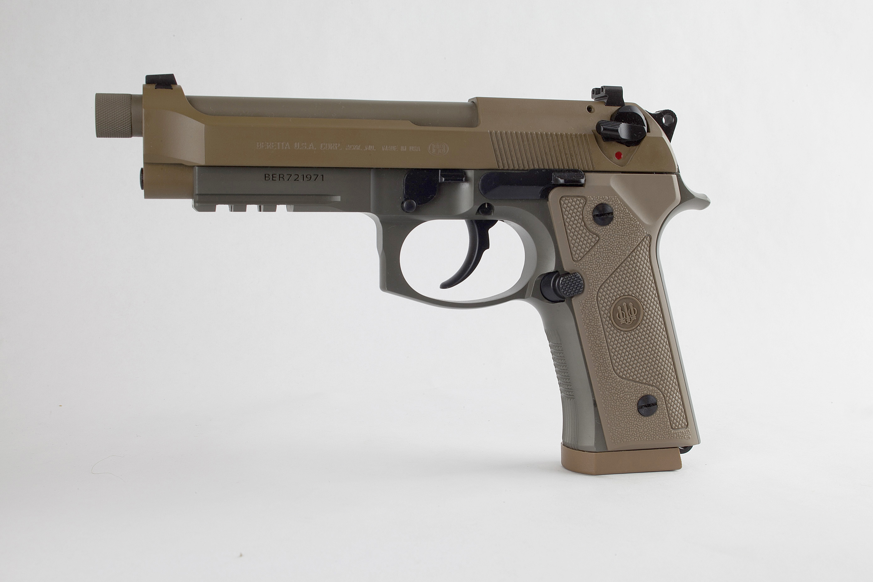 Beretta M9A3: A Commercial-Off-the-Shelf Sidearm for Military & Law Enforcement Agencies