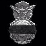 fallen security forces badge