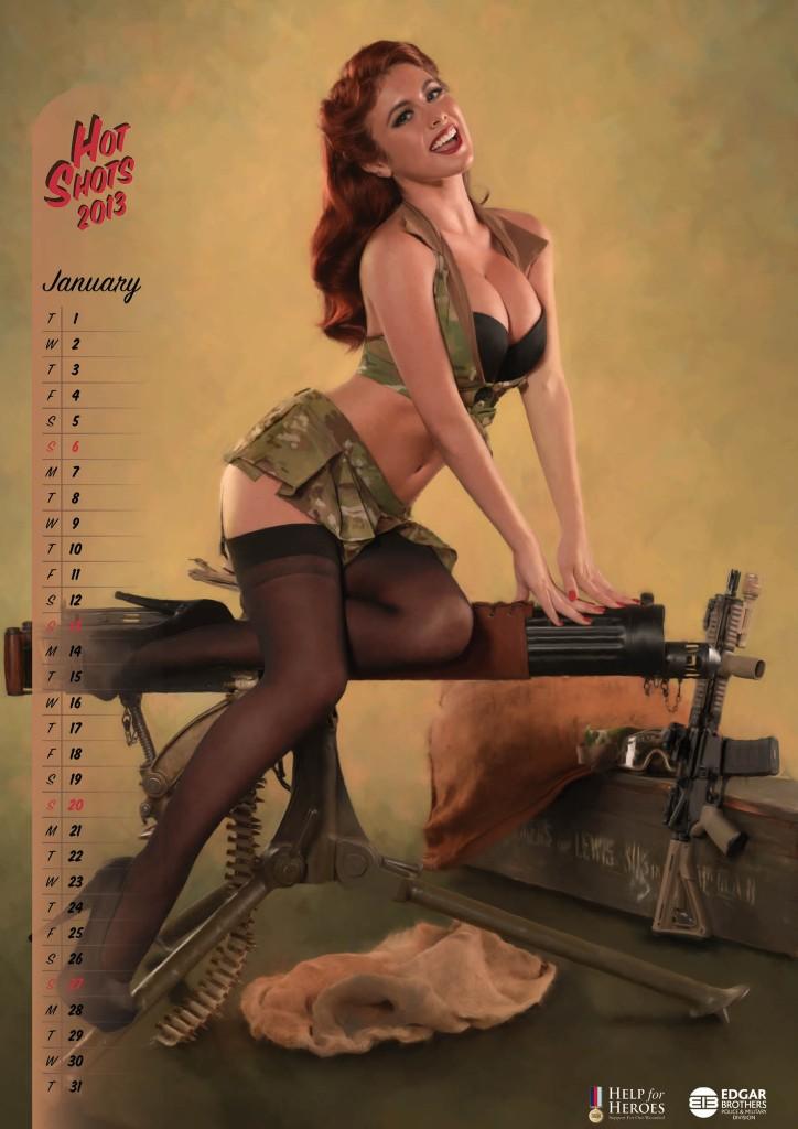 Slutty chicks with guns — img 2