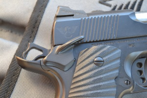 The Wilson Bullet Proof tactical thumb safety is an excellent innovation.