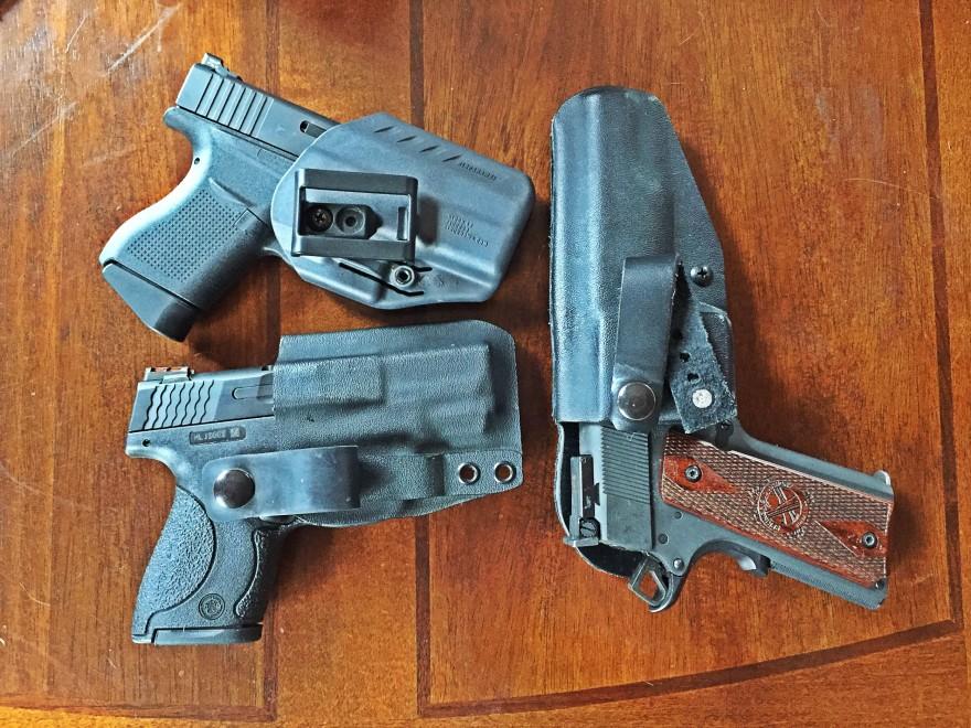 Smith & Wesson M&P Shield Glock 43 Springfield 1911 RO