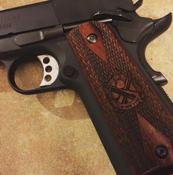buggered 1911 grip screws
