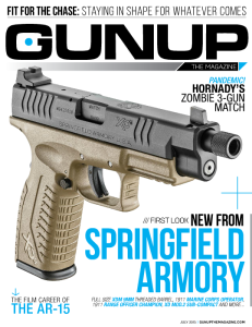 gunup the magazine july cover springfield armory
