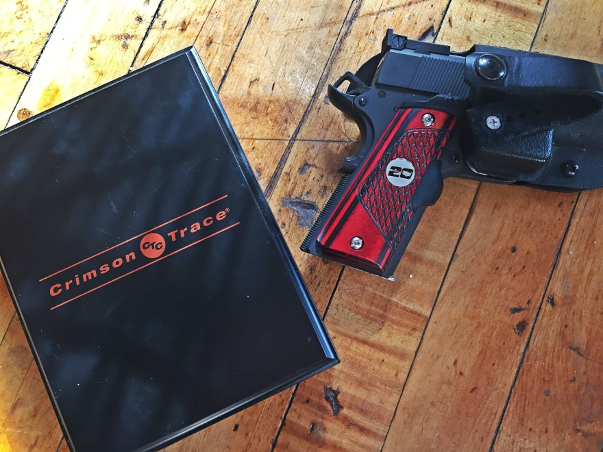 Springfield Armory Range Officer 1911 with Crimson Trace grips
