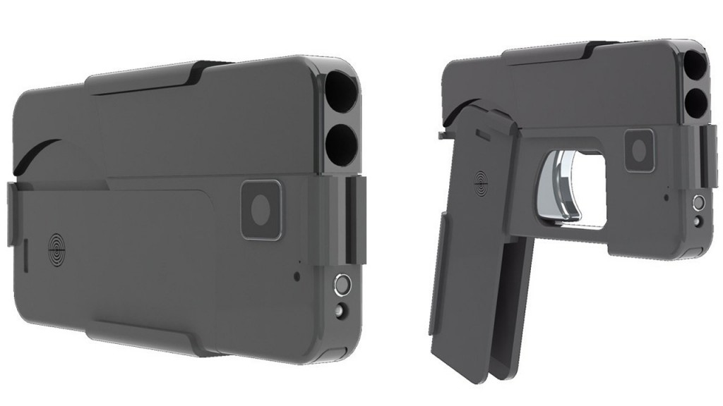 cell phone gun