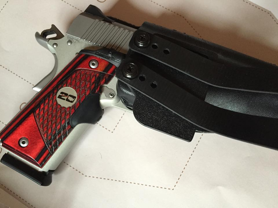 Kimber Pro Carry II stainless with CTC laser
